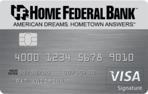 Visa® Real Rewards Card