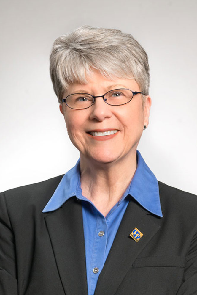 Christine Hopkins, a Home Federal Bank employee