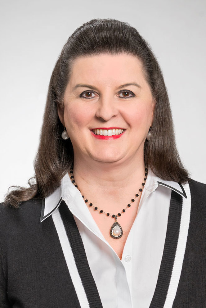Colleen Robinson, a Home Federal Bank employee