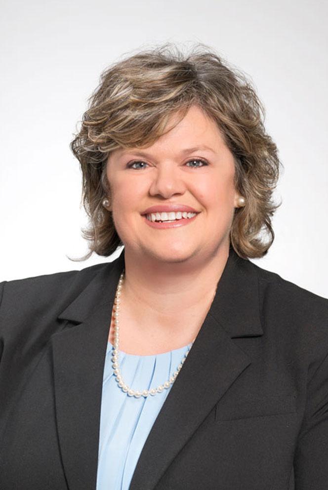 Deborah Harless, a Home Federal Bank employee